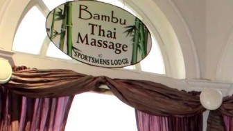 Enjoy Bambu Thai Massage at the Sportsmens Lodge