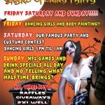 Halloween Weekend at Scores