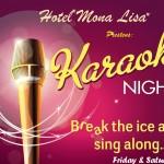 Weekend Karaoke at the Mona Lisa Sportsbar