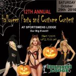 12th Annual Halloween Party and Costume Contest at Sportsmens Lodge