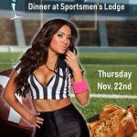 15th Annual Turkey and Football Dinner at Sportsmens Lodge