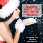 Holiday Special 30% off CRT VIP Members at Sportsmens Lodge