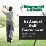 First Annual Golf Tournament at Sportsmens Lodge