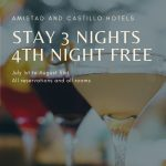Stay 3 Nights 4th Night Free at Amistad and Castillo Hotels
