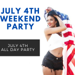 July 4th Weekend Party at Sportsmens Lodge 2020