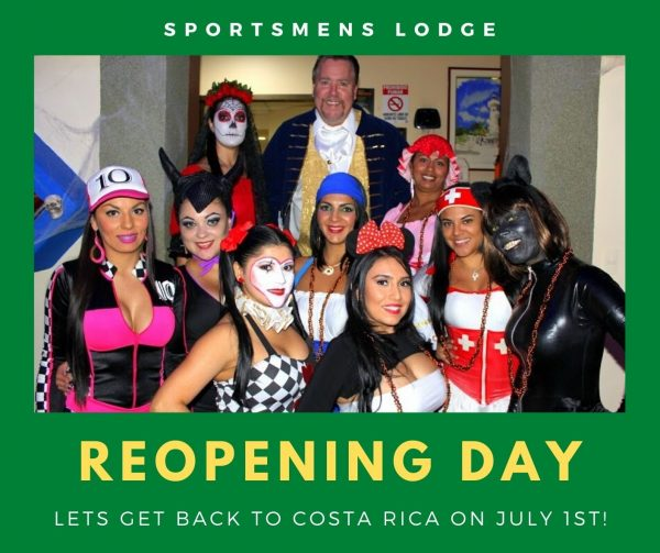 Sportsmens Lodge Reopening