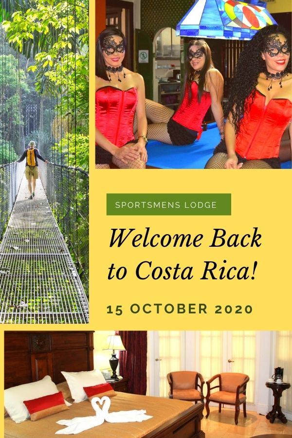 Sportsmens Lodge Welcomes You Back To Costa Rica
