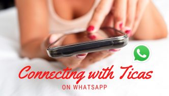 Connecting with Ticas on Whatsapp
