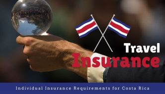 Individual Insurance Requirements for Costa Rica