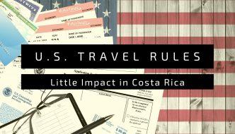 U.S. Return Travel Rules