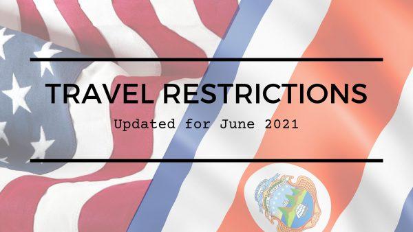 Travel Restrictions June 2021